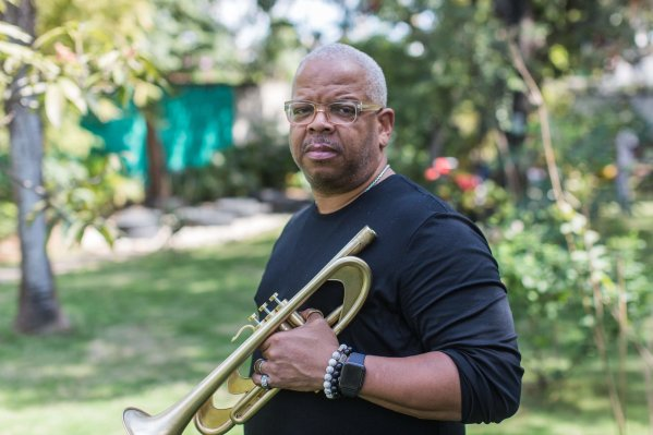 Terence Blanchard composer and jazz trumpeter