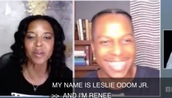 What we do in the next 18 days will determine what the country will be like in the next four years -- Renee Elise Goldsberry Joe Biden and Kamala Harris will get the nation back on track & restore its soul -- Leslie Odom Jr.