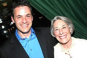 Adam Guettel and Mary Rodgers