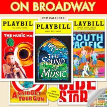On Broadway 2021 calendar
