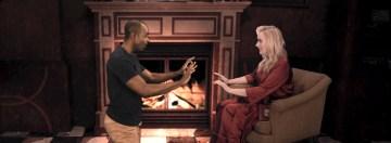 Estella 3 Clifton Duncan as Philip Nickleby, Betsy Wolfe as Estella Scrooge in ESTELLA SCROOGE (c) Tyler Milliron
