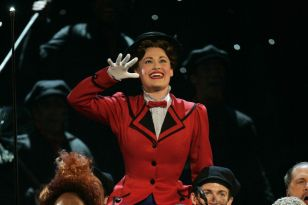 Rebecca Luker in her Tony nominated role in Mary Poppins