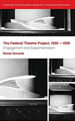 The Federal Theatre Project book cover