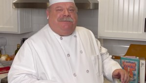 Kevin Chamberlin as chef Gusteau