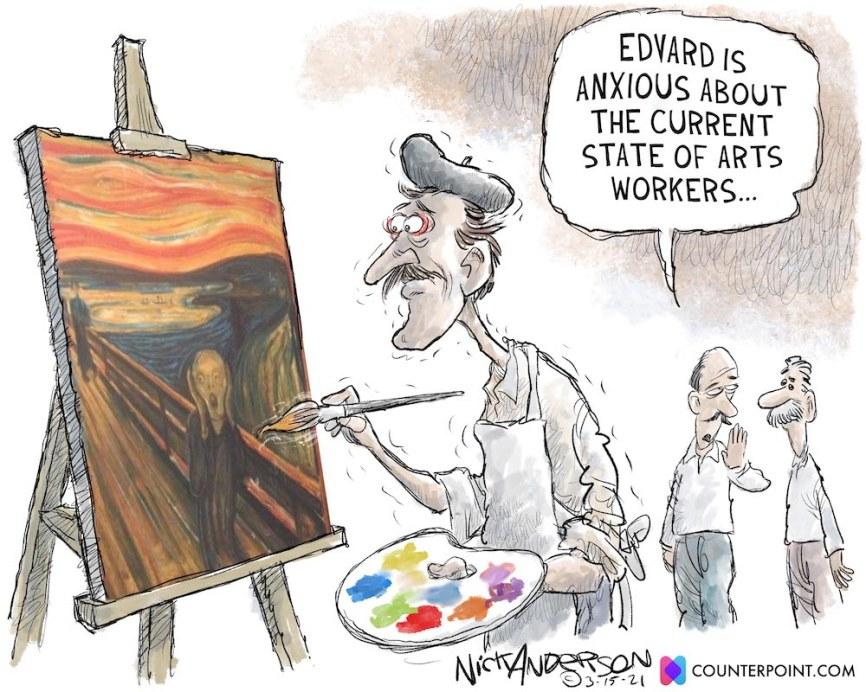 Nick Anderson Edvard Munch