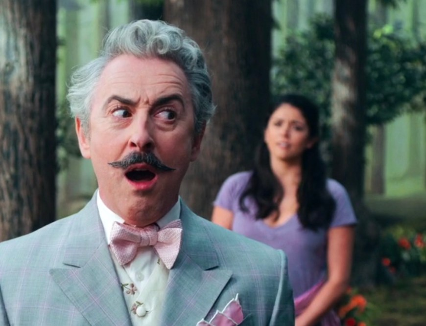 Alan Cumming and Cecily Strong