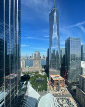 The final piece of the World Trade Center site