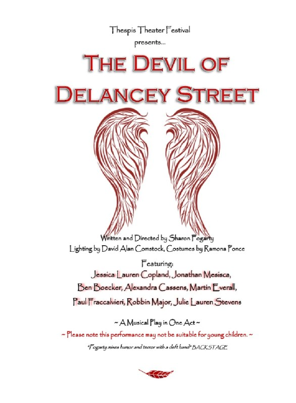 Devil of Delancey Street Flyer 2014