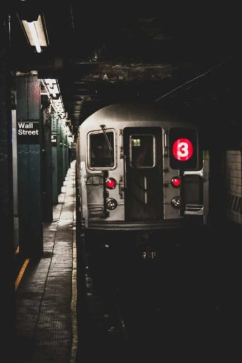 metropolitana new york, linea 3 wall street