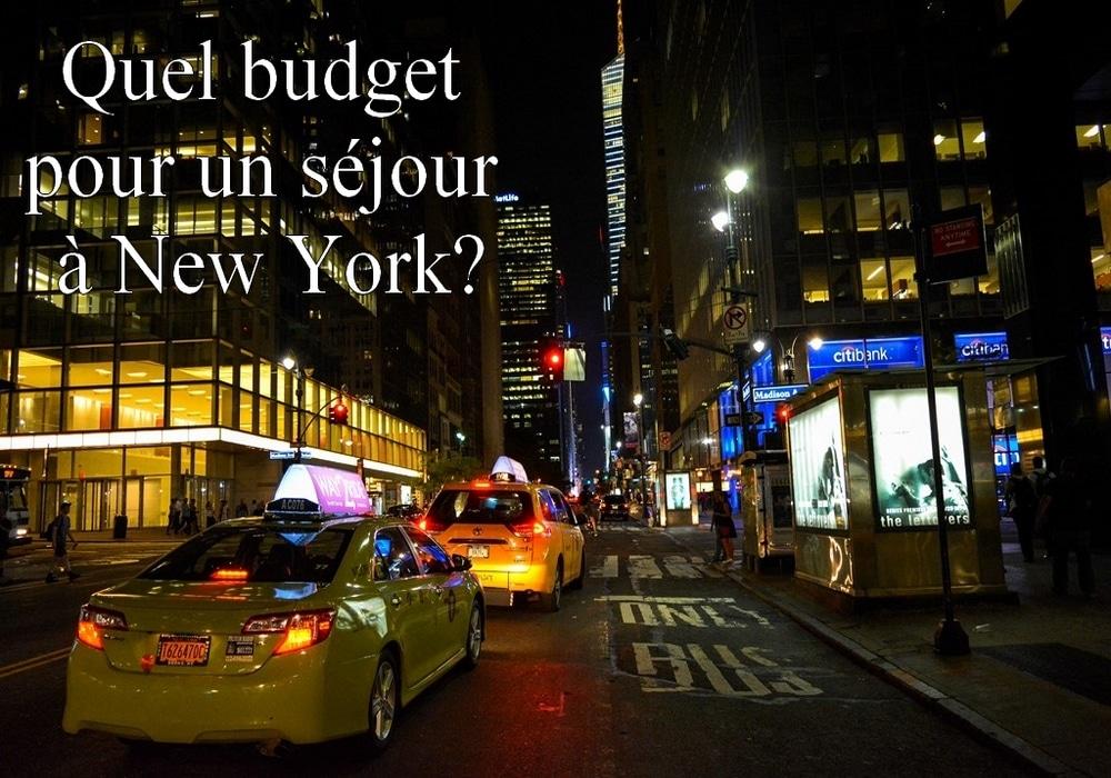 Quel budget pour un séjour à  New York?
