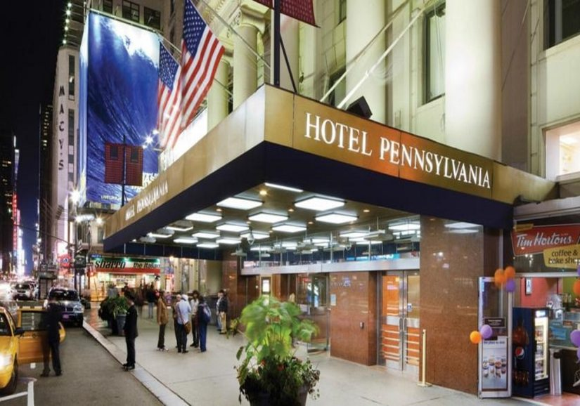 L'hôtel Pennsylvania à Manhattan