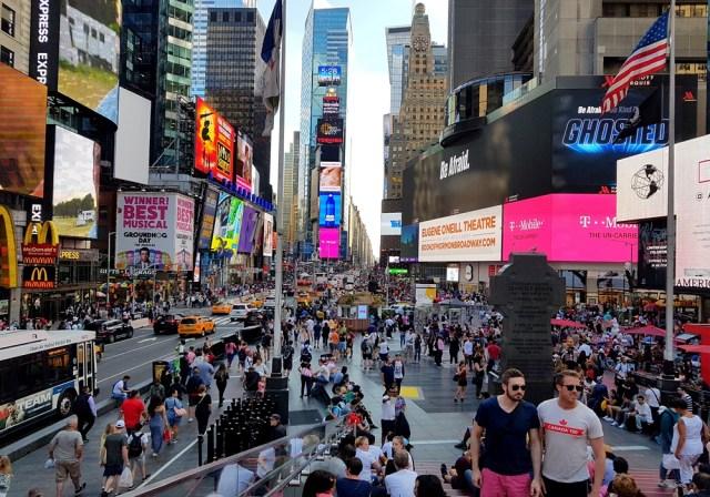 Times Square, la folie au cœur de New York
