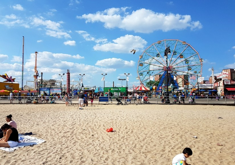 Luna Park à Coney Island
