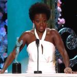 Viola Davis Wins SAG Award & Delivers An Empowering Acceptance Speech