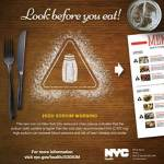 "NYC Health Department Launches ""Look Before You Eat"" Media Campaign"