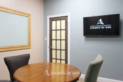 World Mission Society Church of God in Long Island Bible Study Room