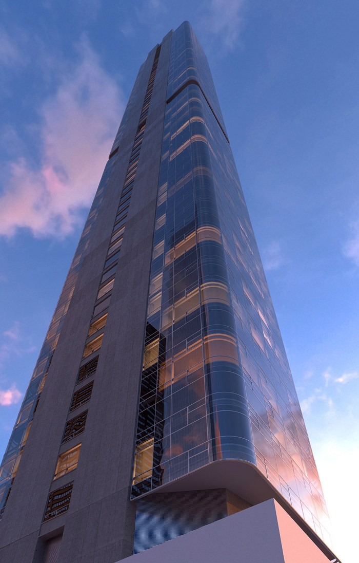 Rendering of 125 Greenwich Street. Via Bizzi & Partners Development