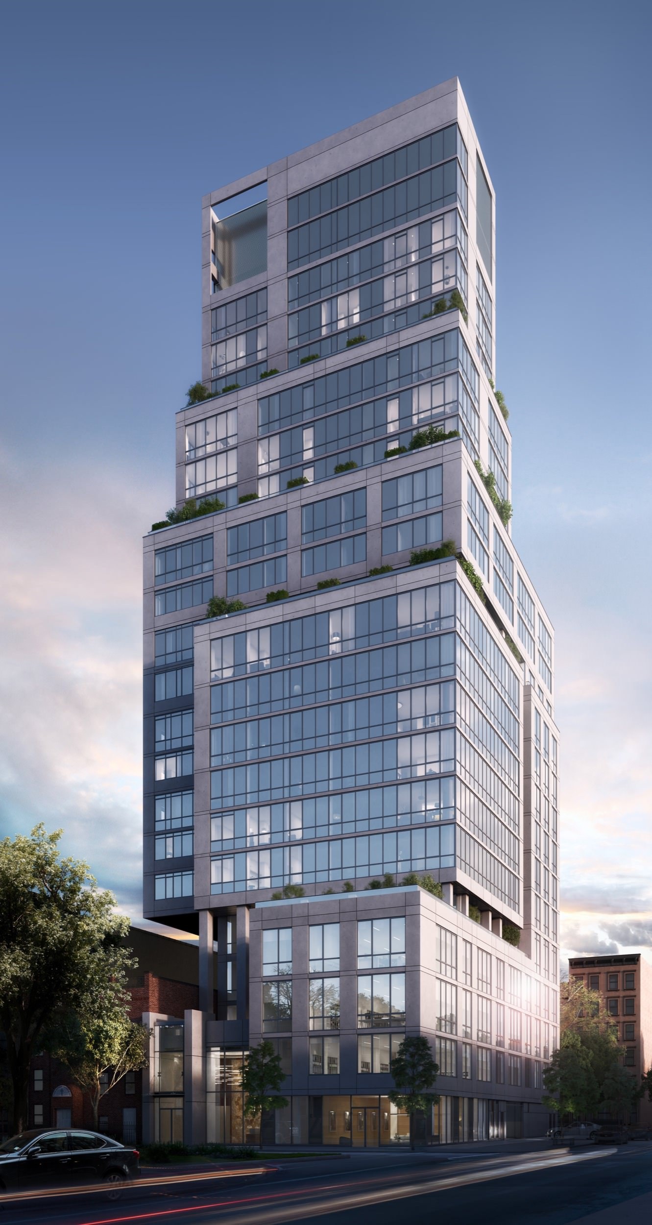 1399 Park Avenue Nears Topping Out In East Harlem