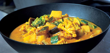 South African Vegetable Curry
