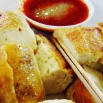 Pan Fried Tofu With Sweet and Sour Sauce