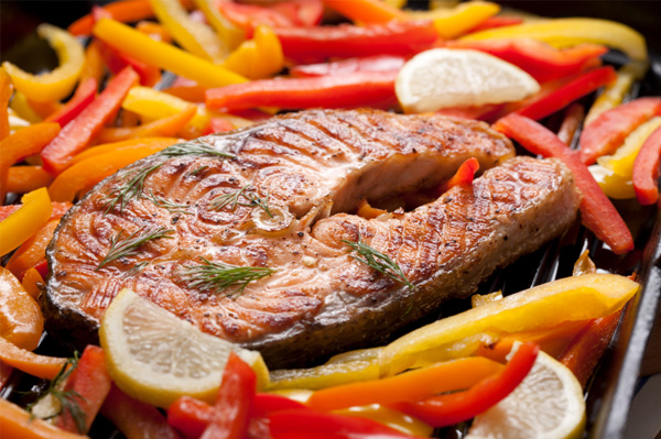 New You Boot Camp Grilled Fish Steaks