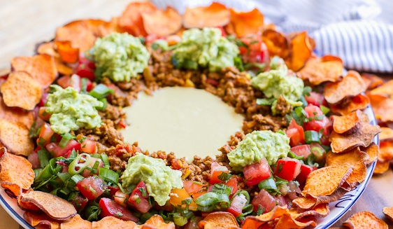 Nachos With Sweet Potato Chips