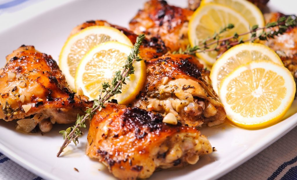 New You Boot Camp Lemon Garlic Chicken