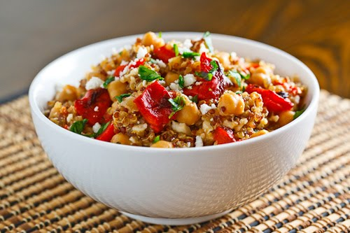 Quinoa and Roasted Pepper