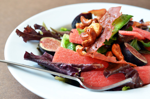 New You Boot Camp Fig and Watermelon Salad