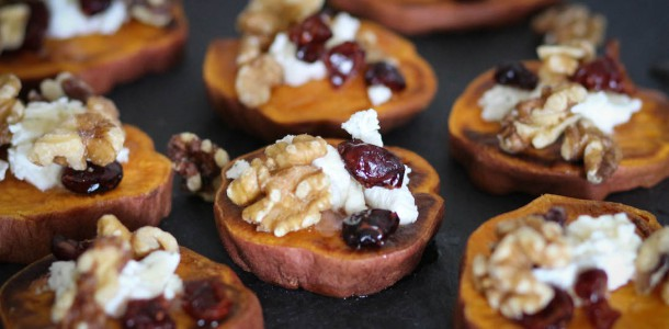 Sweet Potato Snackers