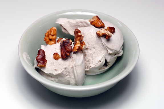 Roasted Banana Coconut Ice Cream