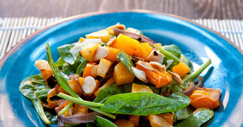 New You Boot Camp Fall Vegetable Salad