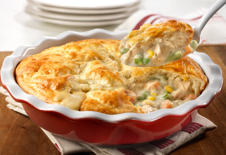 New You Boot Camp Chicken Pot Pie