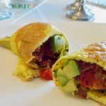 Egg Wrap With Bacon and Avocado