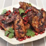Pomegranate Sticky Wings