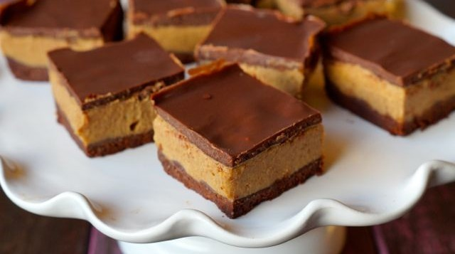 Salted Chocolate Caramel Slices
