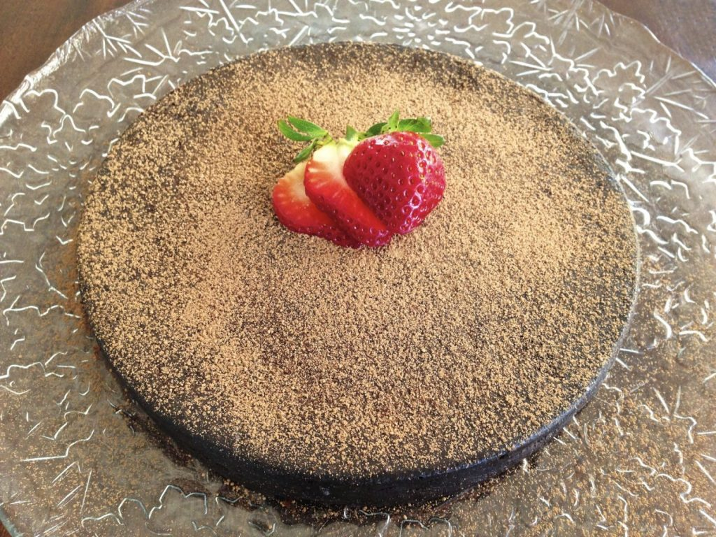 Flourless Chocolate Tart
