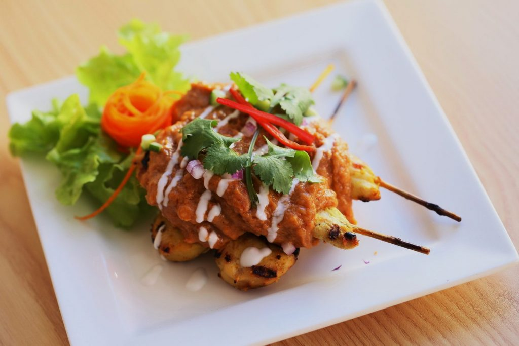 Chicken Satay Kebab