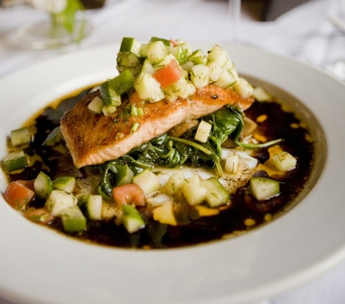 New You Boot Camp Ginger Soy Salmon