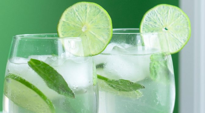 Lime Basil Mocktail