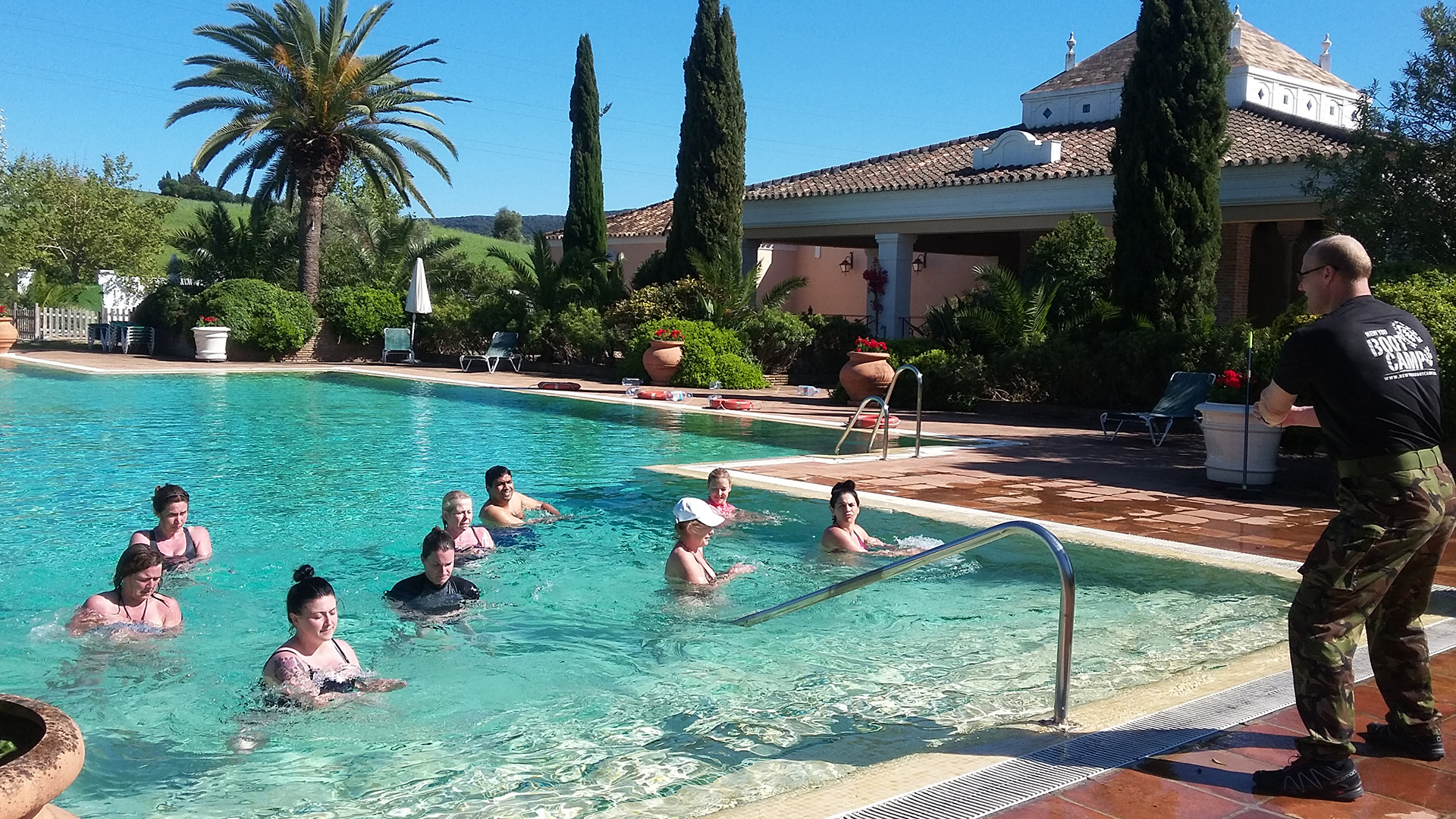 Luxury Weight Loss Boot Camp in Spain