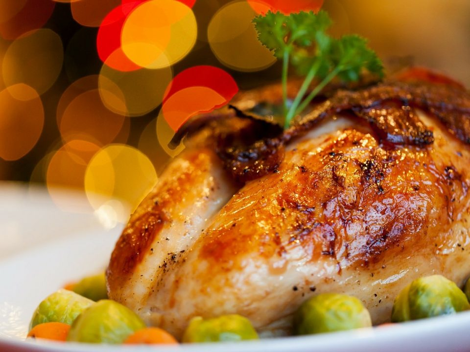 Roast Chicken Christmas