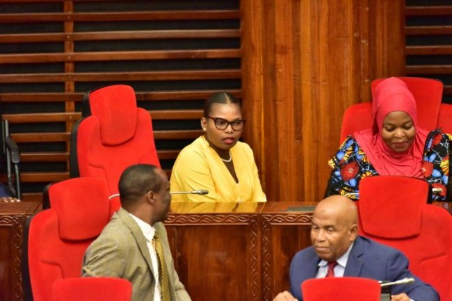 Tanzanian female MP thrown out of parliament for wearing 'tight' trousers »  Newzandar News