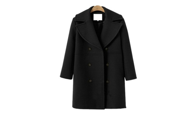 Double Breasted Coat: One ($39.95) or Two ($75)