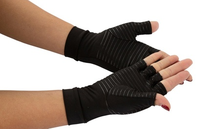 Copper Infused Compression Gloves: One Pair ($15) or Two Pairs ($28)