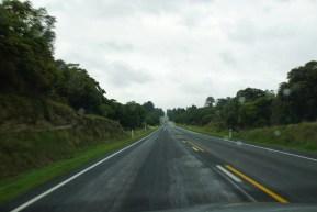 lange, lange Straßen.