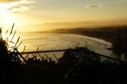 Sonnenuntergang über Gisborne