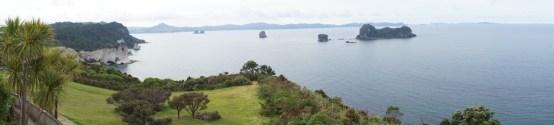 Panorama über die vier Buchten