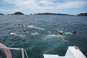 und nochmal ins Wasser
