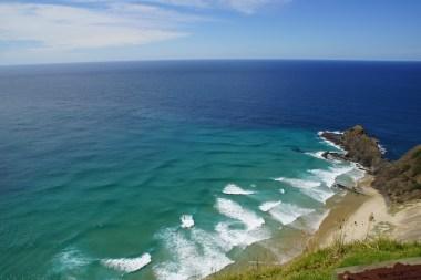 Aufeinandertreffen der Ozeane